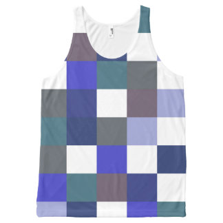 Into The Blues All-Over Print Tank Top