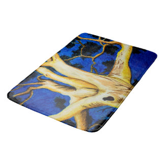 Into the Branches Bath Mat