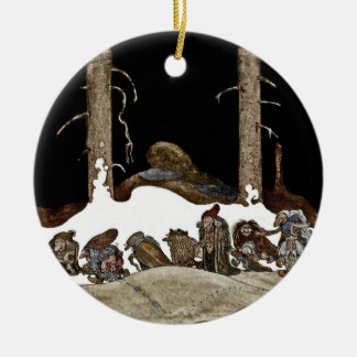 Into the Christmas Night - Christmas Ornament