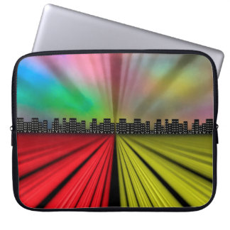 Into the City at Night Laptop Sleeve