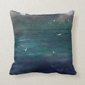 Into The Deep - Sea Ocean themed Cushion