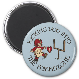 Into The Friendzone 6 Cm Round Magnet