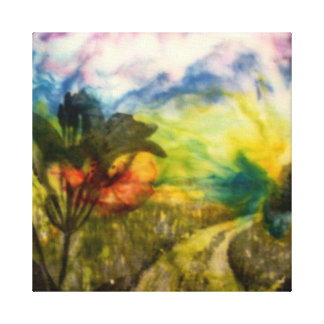 Into The Garden Gallery Wrapped Canvas