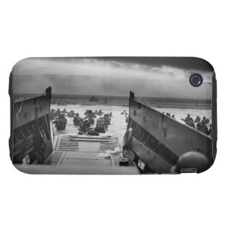 Into The Jaws Of Death LCVP World War II Omaha Tough iPhone 3 Case