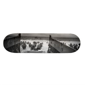 Into The Jaws Of Death LCVP World War II Omaha Custom Skate Board
