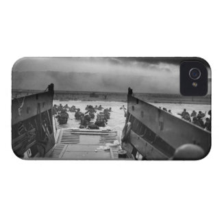 Into The Jaws Of Death LCVP World War II Omaha iPhone 4 Covers