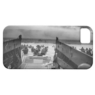 Into The Jaws Of Death LCVP World War II Omaha iPhone 5 Cover