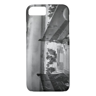 Into The Jaws Of Death LCVP World War II Omaha iPhone 7 Case