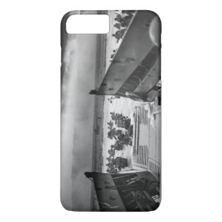 Into The Jaws Of Death LCVP World War II Omaha iPhone 7 Plus Case