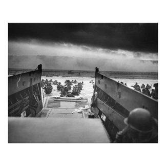 Into The Jaws Of Death LCVP World War II Omaha Photo Art