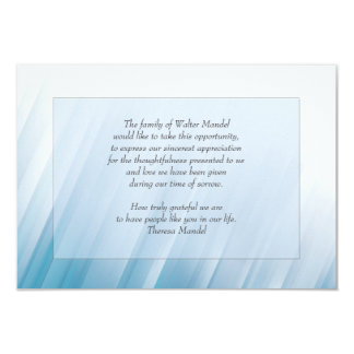 "Into The Light Bereavement Card 3.5""x5"" 9 Cm X 13 Cm Invitation Card"