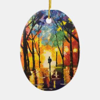 Into the Light Christmas Ornament