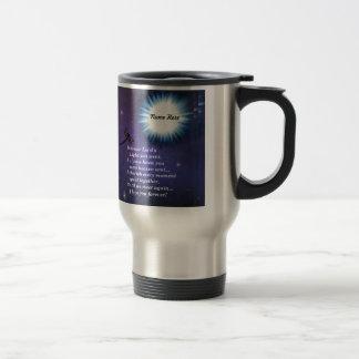 Into The Light Dragonfly Travel Mug