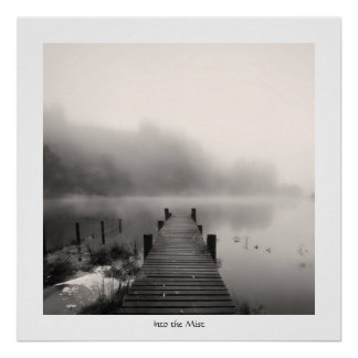 Into the Mist - Loch Ard Poster