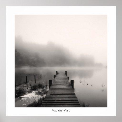 Into the Mist - Loch Ard Print