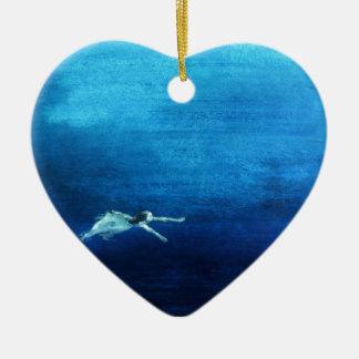 Into The Mystic Ceramic Heart Decoration