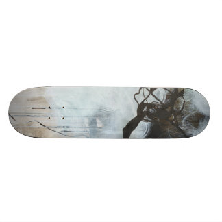 Into the Storm - abstract expressionism Skateboard