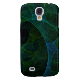 Into The Void Green Galaxy S4 Case
