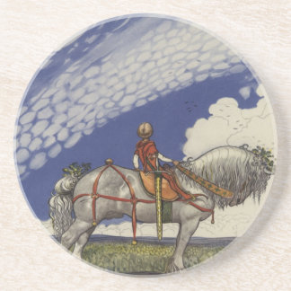 Into the Wide World by John Bauer Coaster