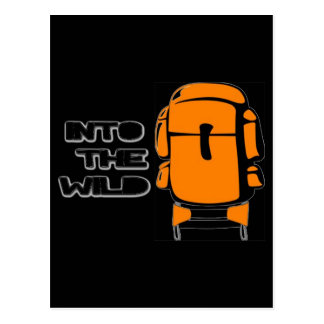Into The Wild Backpack Post Card