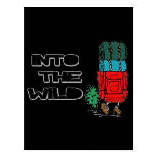 Into The Wild Backpacker Post Cards