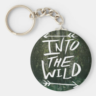Into The Wild Key Ring