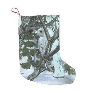 Into The Wild Snowy Owl SCENE HOLIDAY DECOR