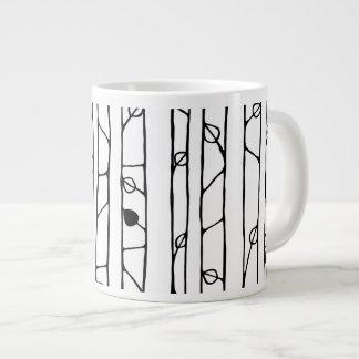 Into the Woods black Jumbo Mug