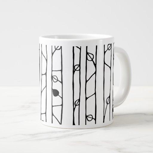 Into the Woods black Jumbo Mug Extra Large Mugs