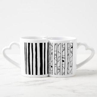 Into the Woods black Lovers Mug Set