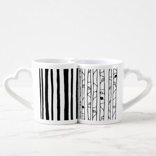 Into the Woods black Lovers Mug Set Lovers Mug Sets