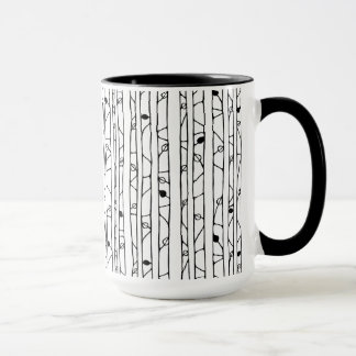 Into the Woods black RInger Mug