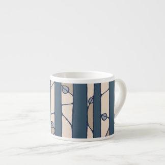 Into the Woods blue Espresso Mug