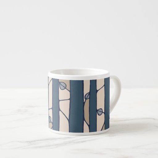 Into the Woods blue Espresso Mug Espresso Mugs