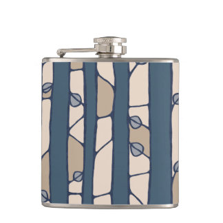 Into the Woods blue Flask