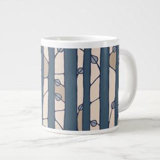 Into the Woods blue Jumbo Mug