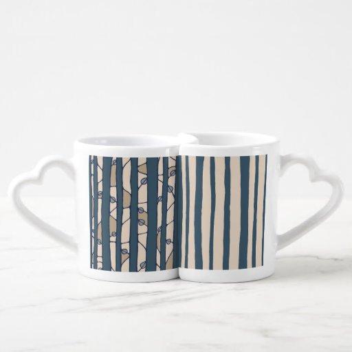 Into the Woods blue Lovers Mug Set Lovers Mug Set