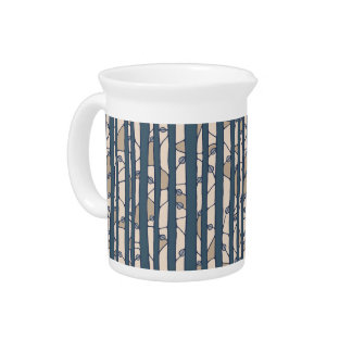Into the Woods blue Pitcher
