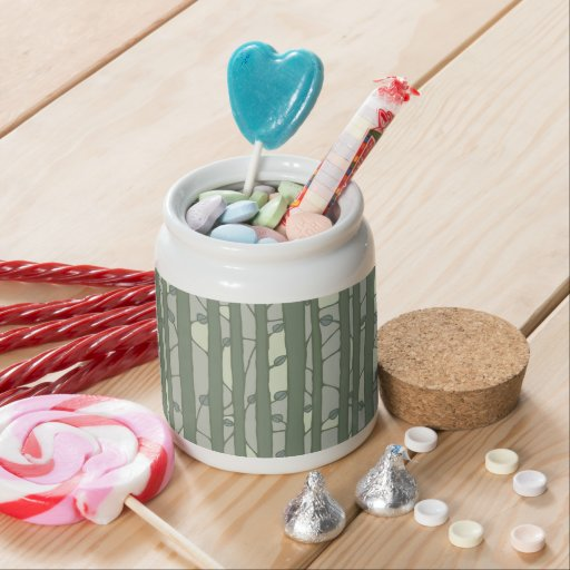 Into the Woods green Candy Jar Candy Jars
