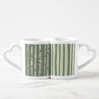 Into the Woods green Lovers Mug Set