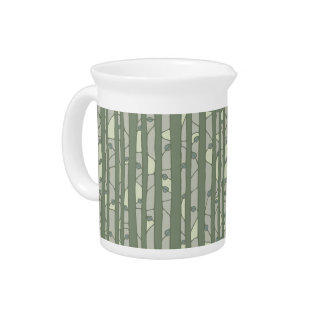 Into the Woods green Pitcher
