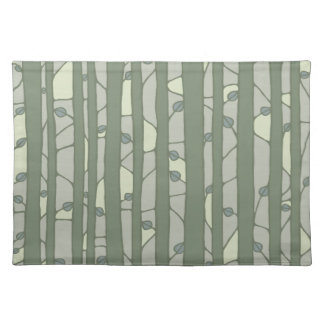 Into the Woods green Placemats Placemats