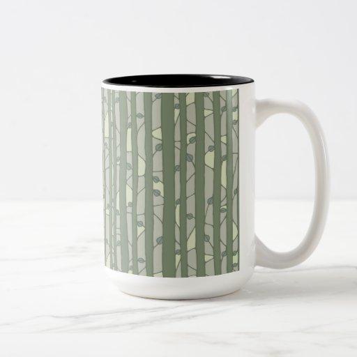 Into the Woods green RInger Mug Coffee Mug