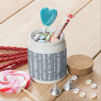 Into the Woods grey Candy Jar Candy Dishes