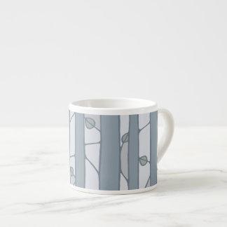 Into the Woods grey Espresso Mug