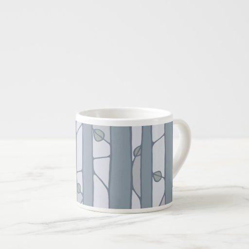 Into the Woods grey Espresso Mug Espresso Mugs