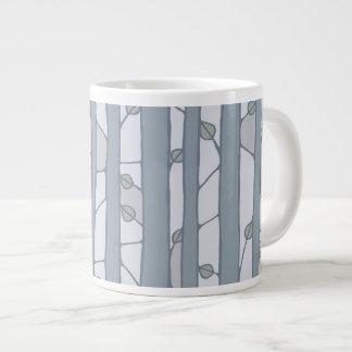 Into the Woods grey Jumbo Mug