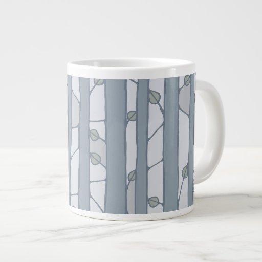 Into the Woods grey Jumbo Mug Extra Large Mugs