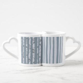 Into the Woods grey Lovers Mug Set
