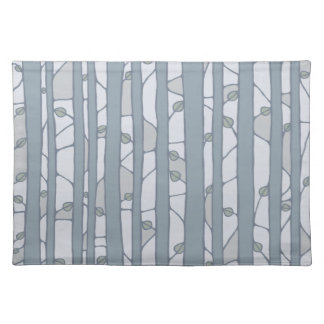 Into the Woods grey Placemats Placemats